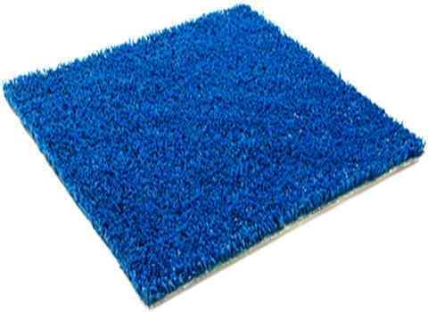 cesped artificial para niños azul